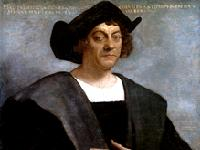 Colombus Portrait by Sebastiano del Piombo painted after Columbus death.