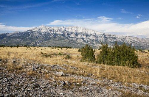 Dinara Peak is Croatia's highest mountain peak