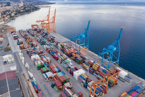 Croatian Port of Rijeka - image by Drazen Vukelic/shutterstock.com