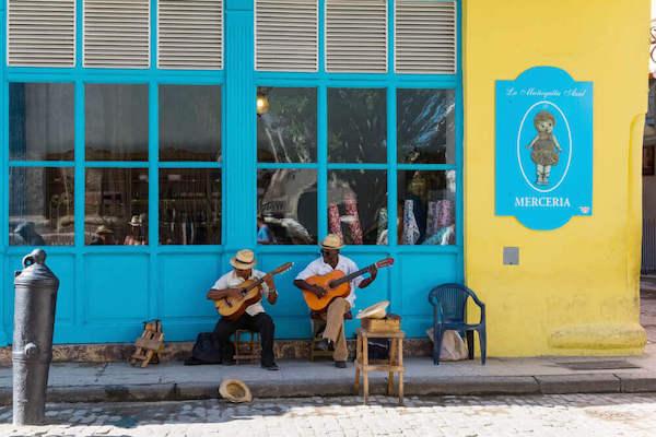 Cuban street musicians - image by possohh/shutterstock.com