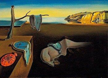Salvador Dali: famous painting