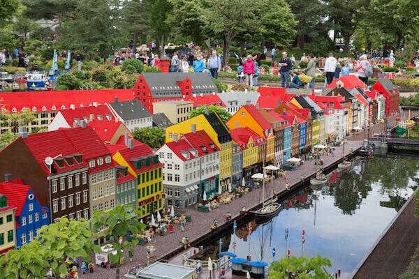 Legoland in Billund - image by Anna Soelberg/shutterstock.com
