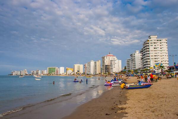 Salinas Beach in Ecuador - image by Fotogrin/shutterstock.com