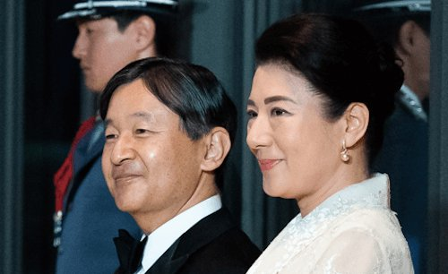 Emperor Naruhito and empress Masako - wikicommons - Official White House Photo by Andea Hanks