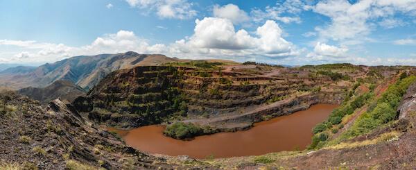 Ngwenya mine in Eswatini