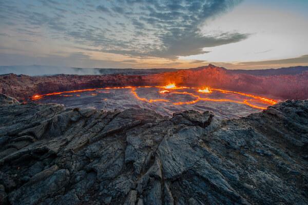 Erta Ale Lava Lake in Ethiopia