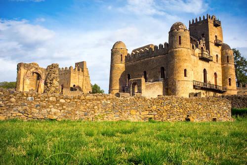 Ethiopian Gondar Castle
