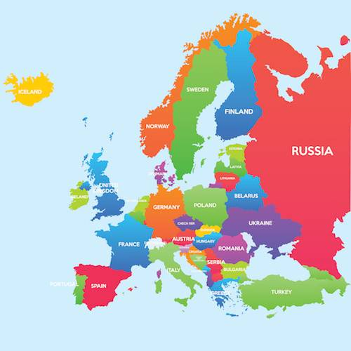 simple europe map for children Europe Facts | Kids World Travel Guide | Geography | Landmarks