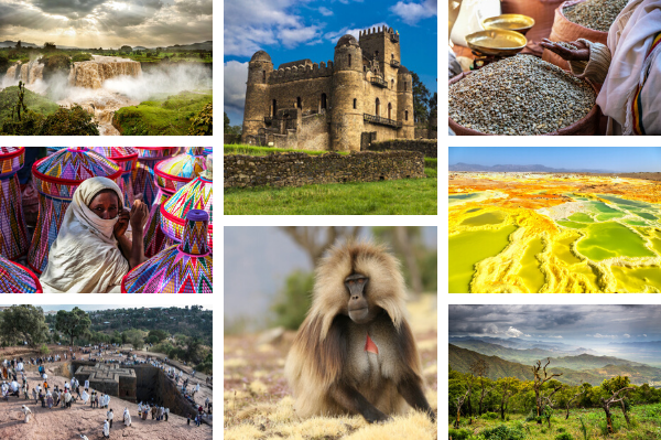Impressions of Ethiopia - images all at shutterstock.com