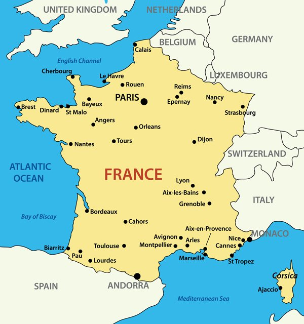 Map Of France In 1789.France Facts For Kids Facts About France France For Kids