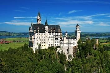 Castle Neuschwanstein in Bavaria/Germany