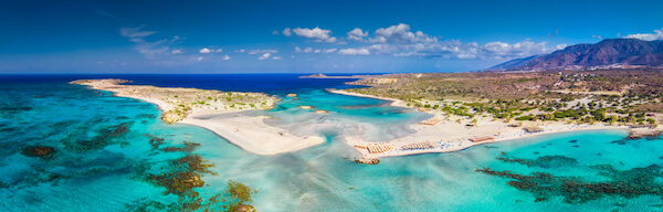 Elafonissi Beach on Crete
