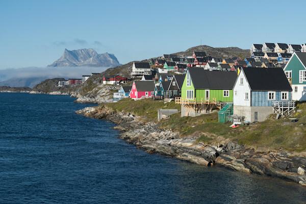 Nuuk on Greenland