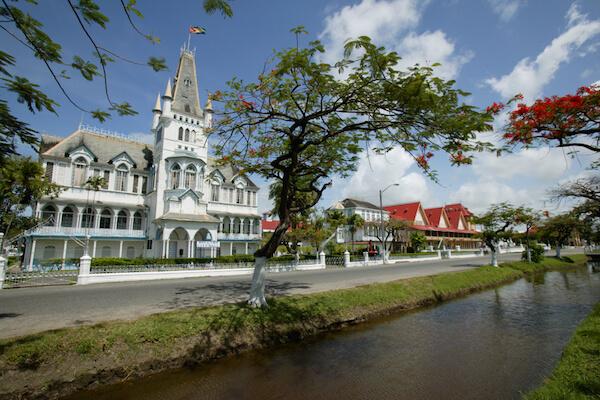 Guyana City Hall in Georgetown