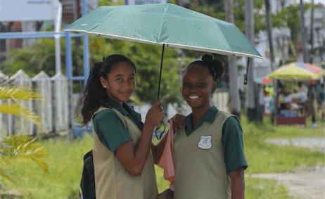 Schoolgirls in Guyana - image by Natalia Gornyakova/shutterstock