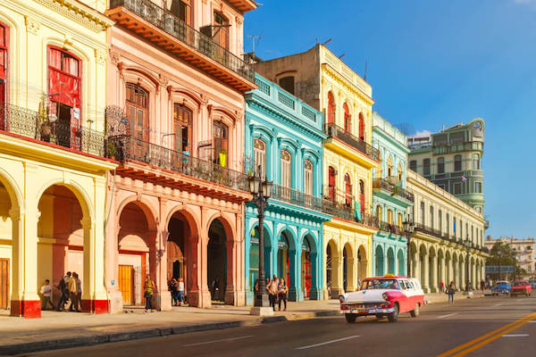 Old City Centre in Havana - image by Kamira/shutterstock