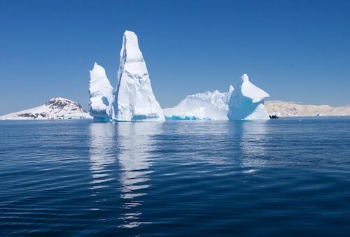Iceberg in the Southern Ocean - shutter stock.com