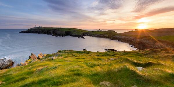 Irish landscape in West Cork
