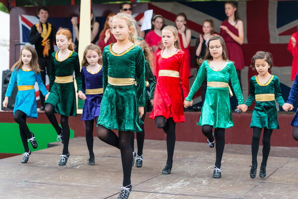 Irish dance performed by children - image by Konmac/shutterstock.com