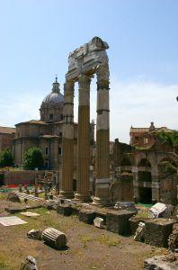 Foro Romano in Rome Italy