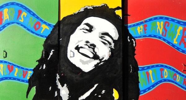 Bob Marley image by Lucian Milasan/shutterstock.com
