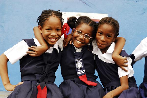 Jamaican schoolgirls - image by Danita Delimont/shutterstock.com