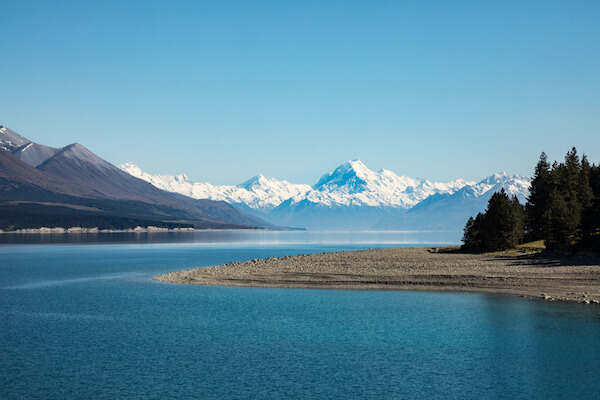 Lake Tekapo with Mount Cook