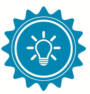 Blue Lightbulb icon - Kids World Travel Guide
