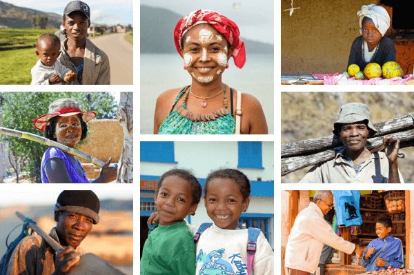 People of Madagascar - all images by shutterstock