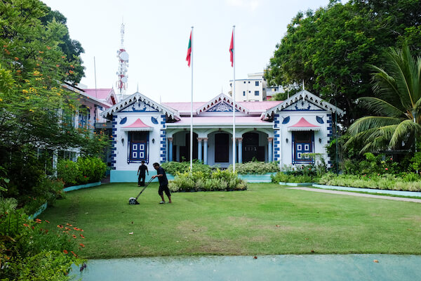 Maldives Presidential Palace - image by Ehab Othman/shutterstock