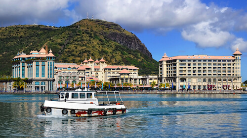 Port-Louis, Capital City of Mauritius and the heart of the ...