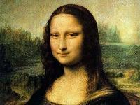 The famous Mona Lisa by Leonardo da Vinci