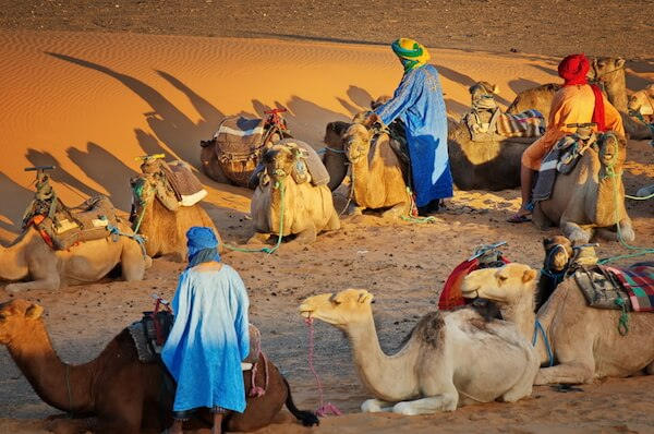 Sahara trekking with Berbers in Morocco