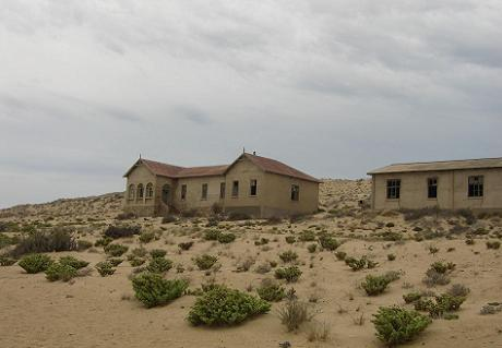 Kolbmankop Ghost Town in Namibia was popular during Diamondrush