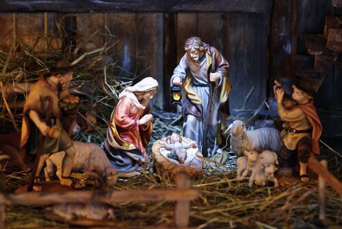 nativity scene - image by Alexander Hoffmann/shutterstock.com