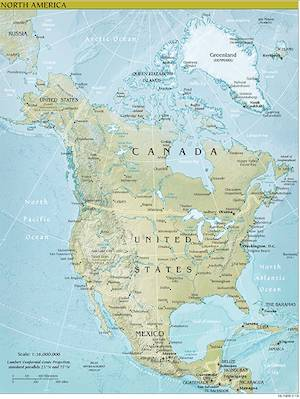 North America Facts for Kids   NorthAmerica   Geography