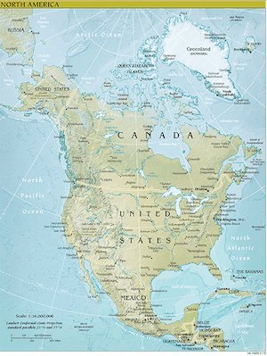 Map Of North America For 4th Grade.North America Facts For Kids Northamerica Geography Superlatives