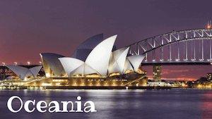 Oceania/Australia Continent Facts - Sydney Opera
