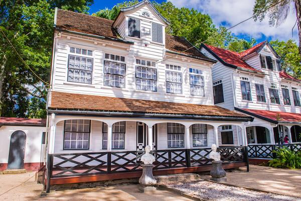 Paramaribo historic buildings - image by Anton Ivanov/Shutterstock