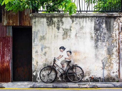 Penang graffiti by R.M.Nunes/shutterstock.com