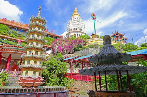 Kek Lok Si Temple in Penang/Malaysia
