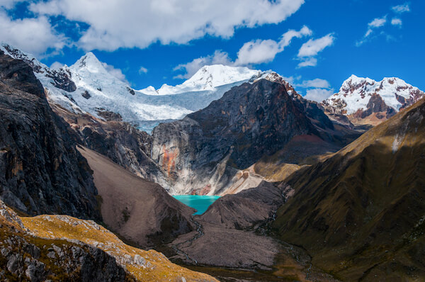 Huascaran Peru mountainscape