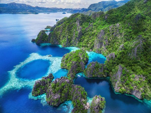 Philippines Palawan Coron island