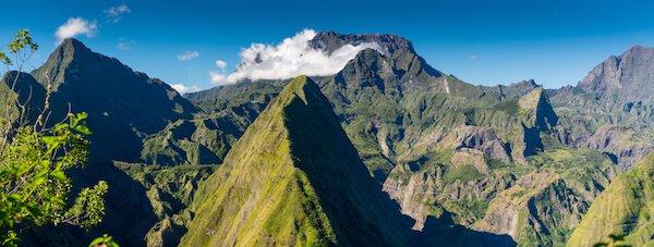 Piton des Neiges in Reunion island