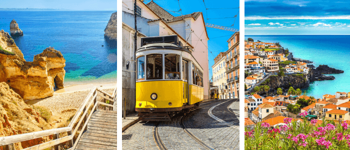 Portugal for Kids: Algarve - Lisbon Tram - Madeira