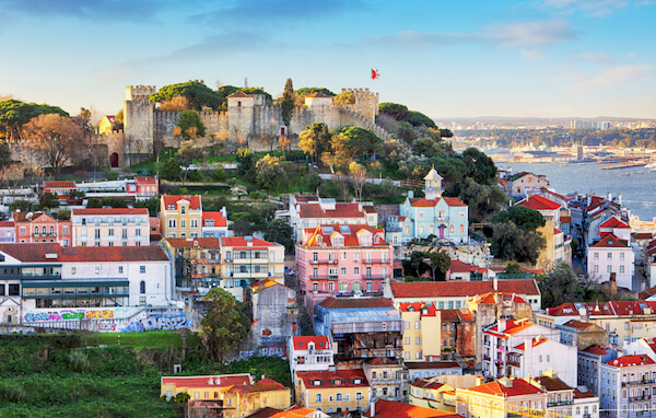 Portugal attractions: Lisbon and castle
