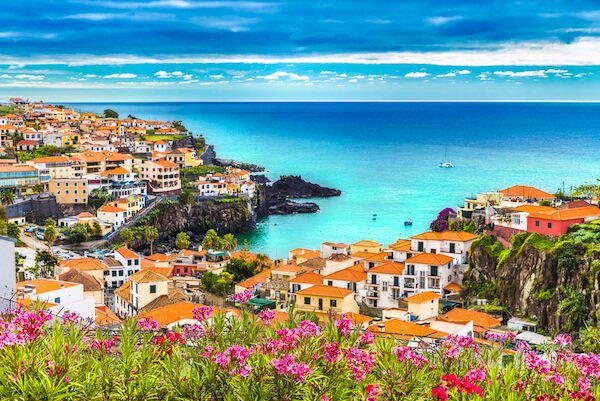 Madeira island in Portugal
