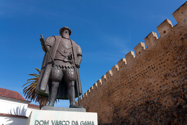 Vasco Da Gama Statue in Lisbon/Portugal