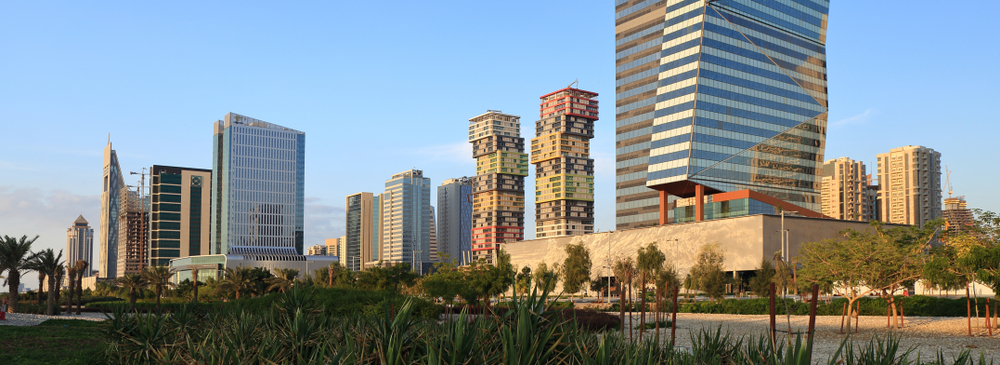 Lusail City - image by satheesh madh/shutterstock.com