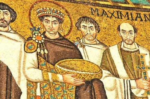 Mosaic in Ravenna/Italy